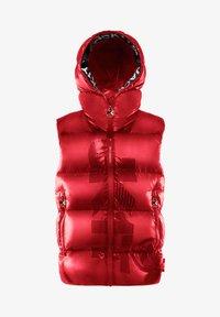 JACK1T - PRIME SLICK - Waistcoat - cherry red - 2