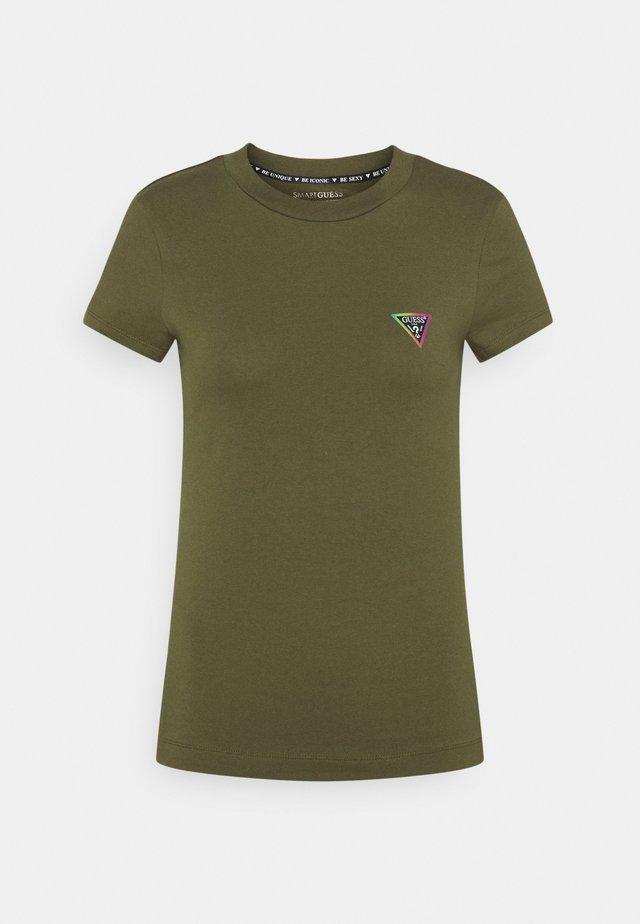 MINI TRIANGLE - Basic T-shirt - greenstone