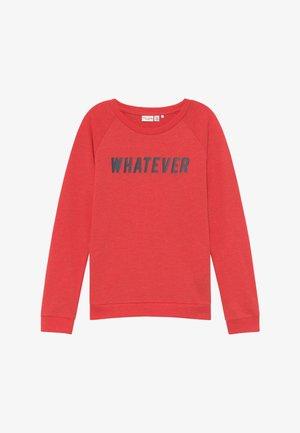 NKFVEDA - Sweatshirt - high risk red