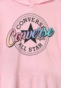 Converse - RELAXED PEPLUM HOODIE - Kapuzenpullover - pink foam - 2