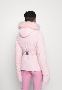 Missguided - SKI JACKET WITH MITTENS AND BUMBAG  - Winter jacket - pink - 2
