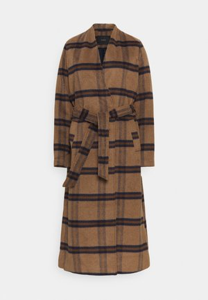YASRUBINA COAT TALL - Classic coat - toasted coconut
