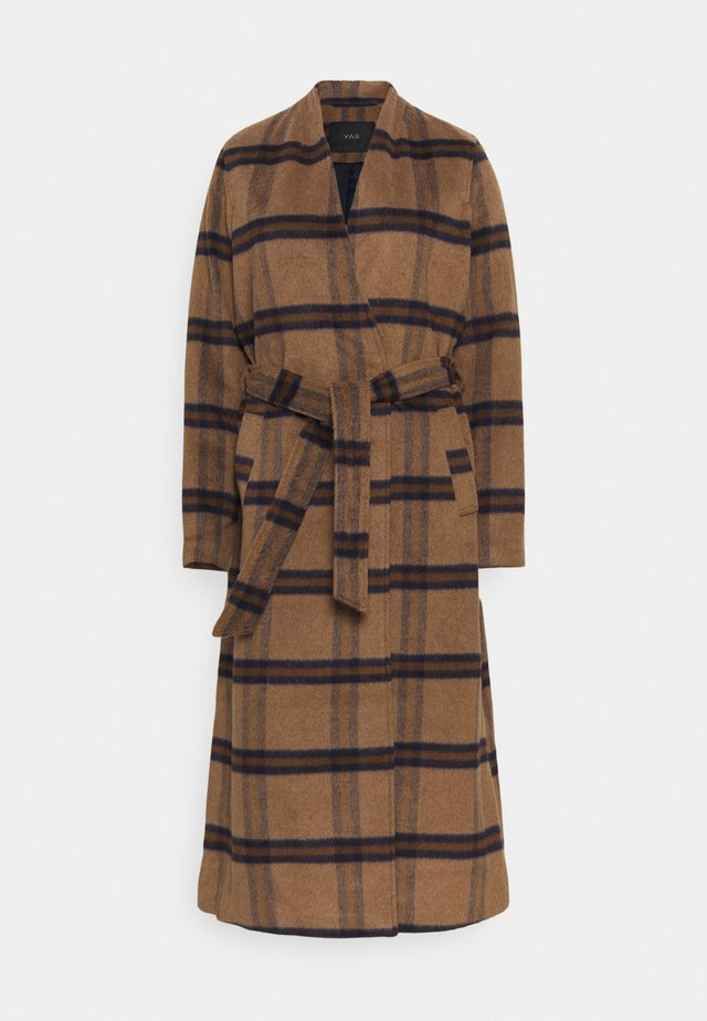YASRUBINA COAT TALL - Cappotto classico - toasted coconut