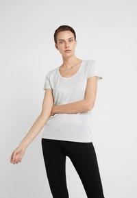 HUGO - DENOLE - T-Shirt basic - natural - 0