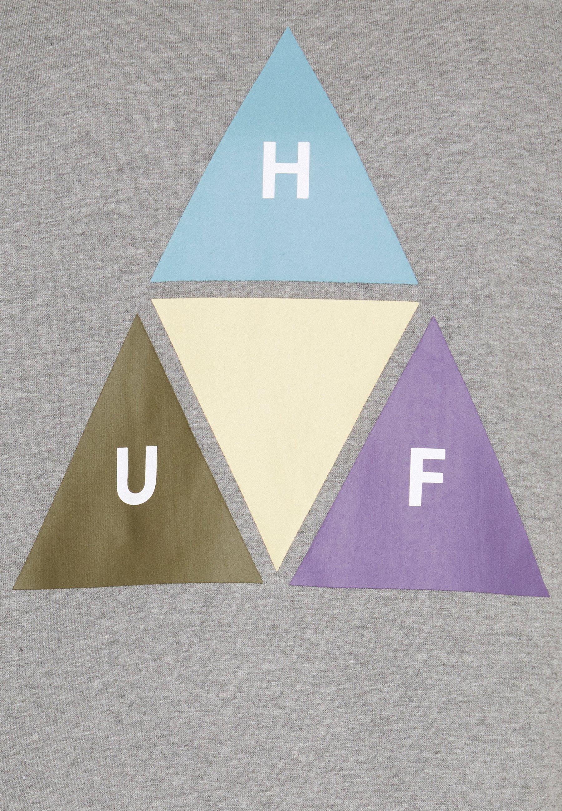 Dernière Remise Vêtements homme HUF PRISM TRAIL CREWNECK Sweatshirt grey heather SvAQOenA