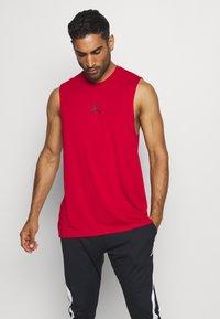 Jordan - AIR TOP - Funkční triko - gym red - 0