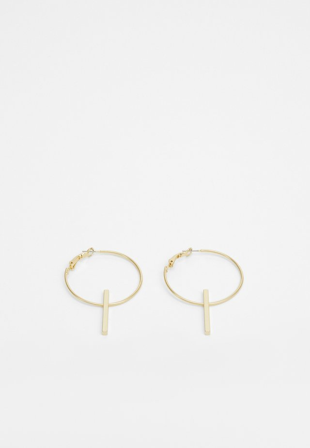 CARLO BIG RING EAR - Boucles d'oreilles - gold-coloured