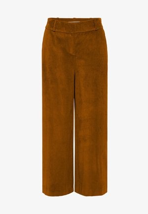 LILA - Trousers - nutmeg brown