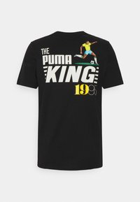 Puma - GRAPHIC TEE LEGENDS - Camiseta estampada - black - 1