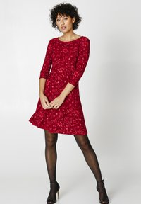 Indiska - BERRY  - Jersey dress - red - 3