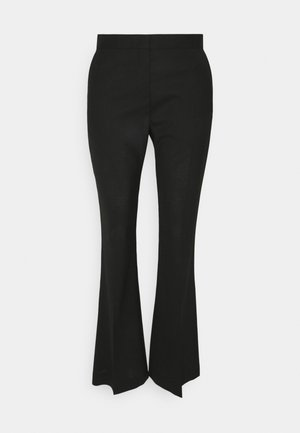 WOMENS TROUSERS - Trousers - black
