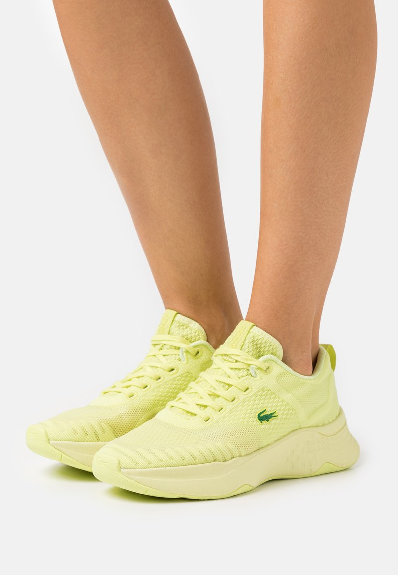 Lacoste - COURT DRIVE FLY  - Baskets basses - light yellow