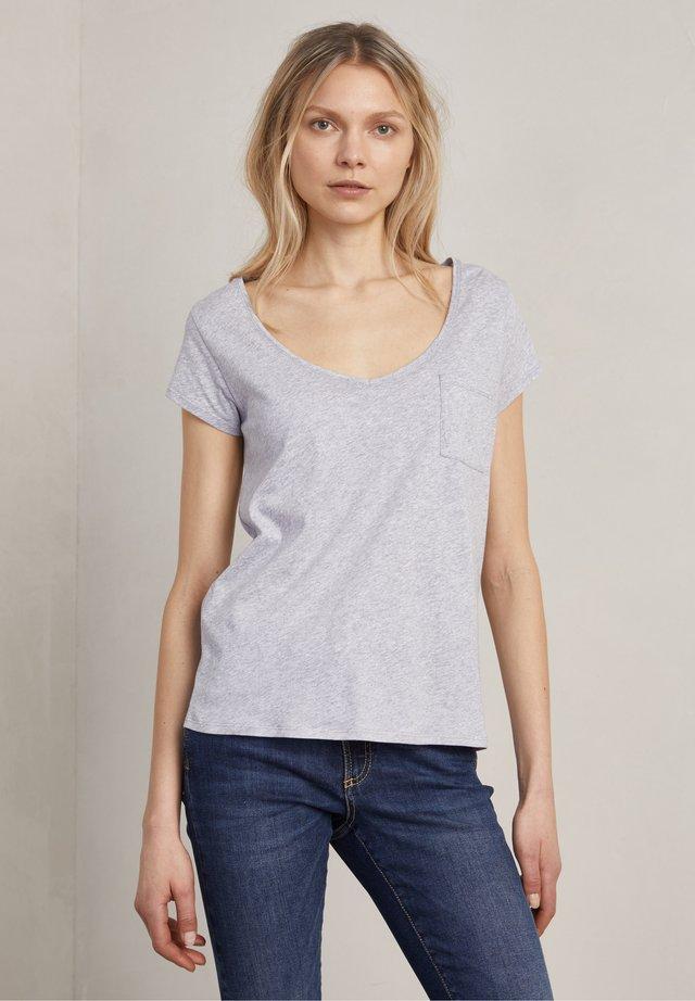 BONO - T-shirt basic - grey melange