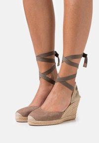 Unisa - CARNOT - Platform sandals - funghi - 0