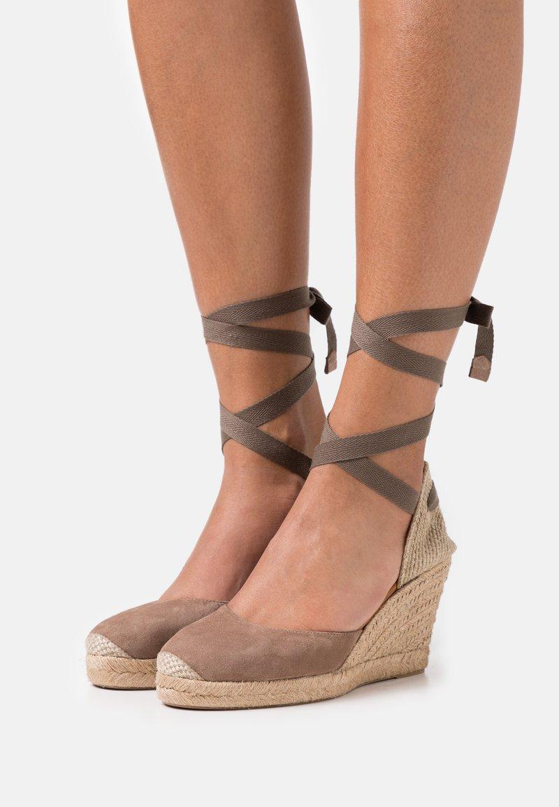 Unisa - CARNOT - Platform sandals - funghi