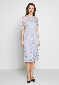 Lauren Ralph Lauren - KAMI DRESS - Vapaa-ajan mekko - toile blue - 0