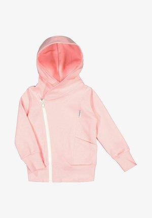 Zip-up sweatshirt - romance pink/white sand