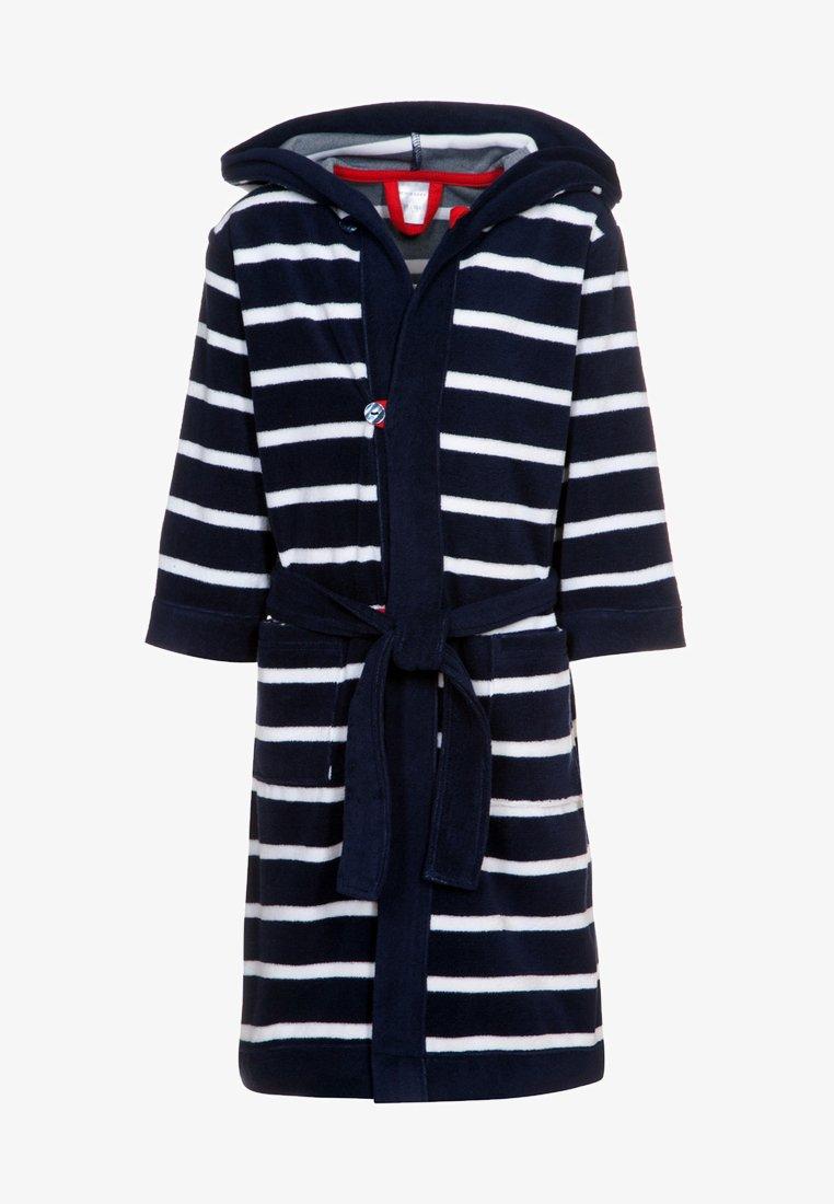 Schiesser - Dressing gown - dunkelblau