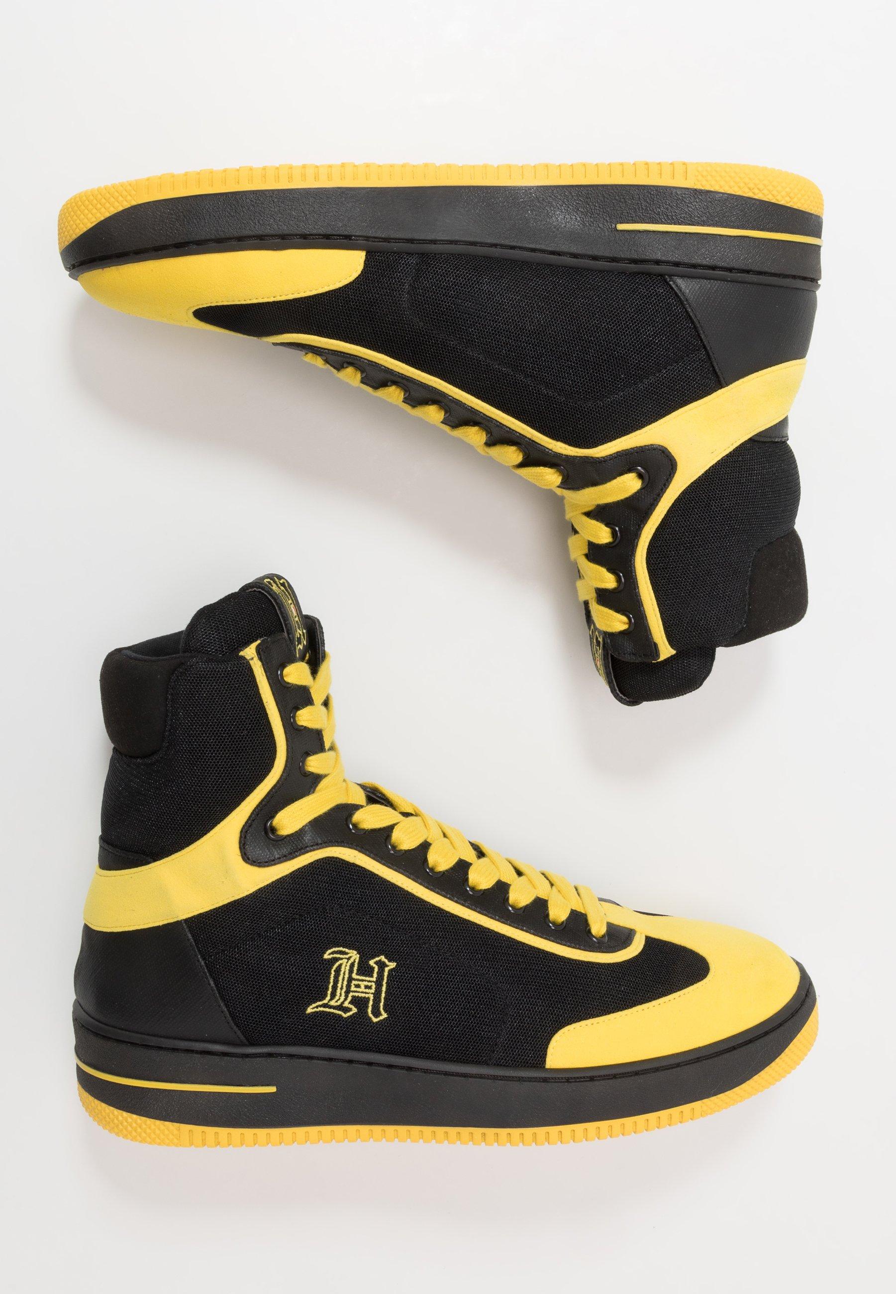 LEWIS HAMILTON MODERN HIGH TOP SNEAKER Höga sneakers black