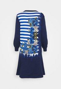 Alberta Ferretti - DRESS - Pletené šaty - blue - 6