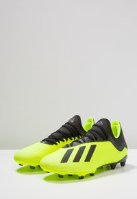 adidas Performance - X 18.3 FG - Moulded stud football boots - solar yellow/core black/footwear white - 2