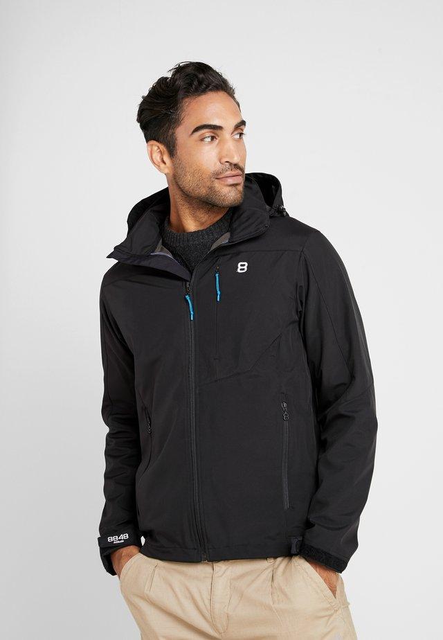 PADORE 3.0 JACKET - Soft shell jacket - black