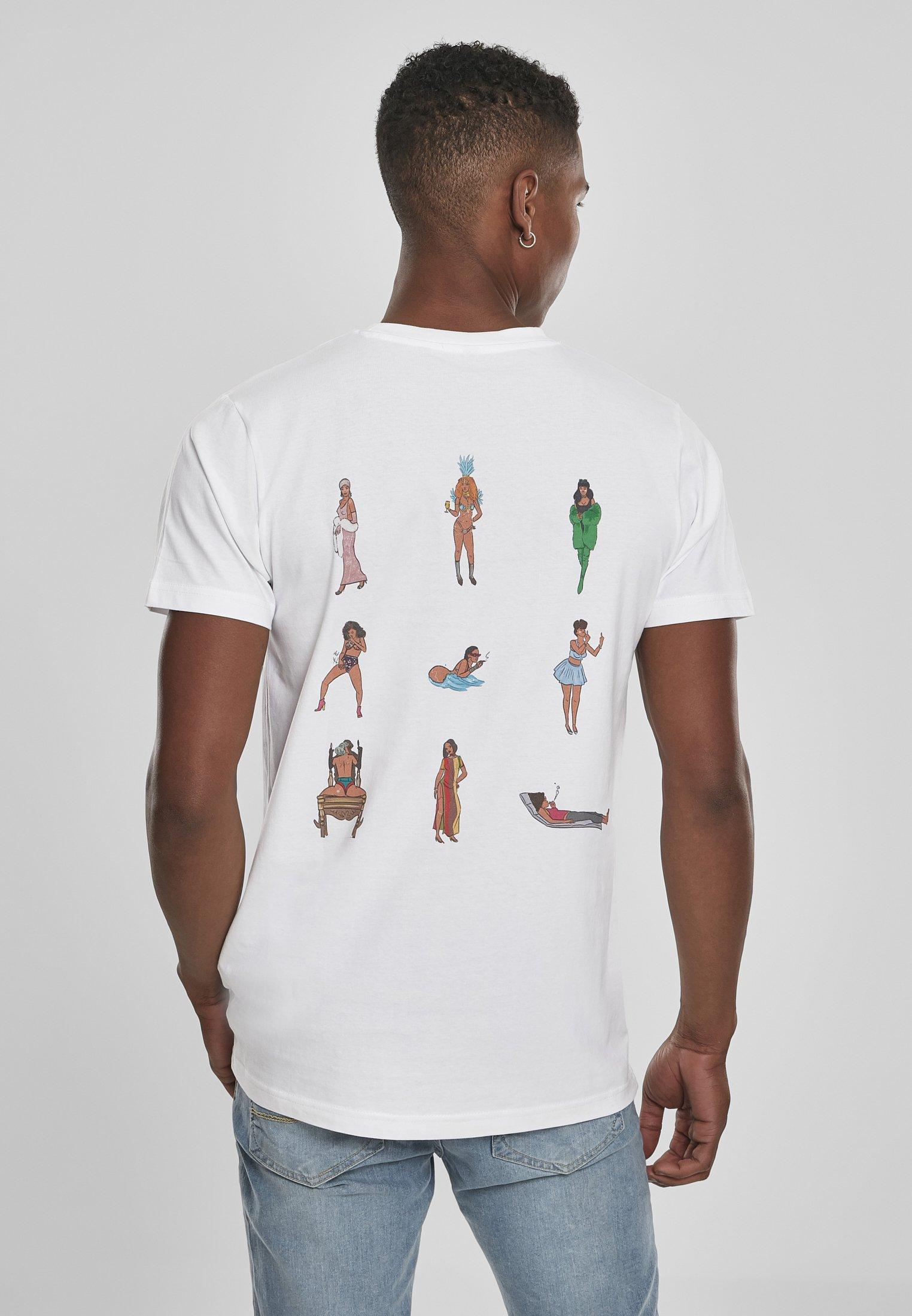 Mister Tee Bad Gyal - T-shirt Print White