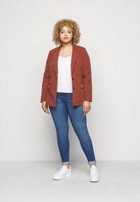 Levi's® Plus - 720 HIRISE SUPER SKINNY - Jeans Skinny Fit - eclipse craze plus - 1