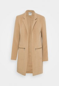ONLY - ONLLINEA MIRIAM ZIP COATIGAN  - Manteau court - tigers eye - 5