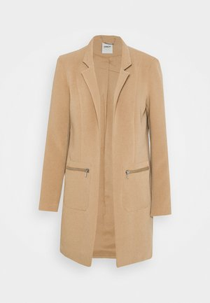 ONLLINEA MIRIAM ZIP COATIGAN  - Short coat - tigers eye