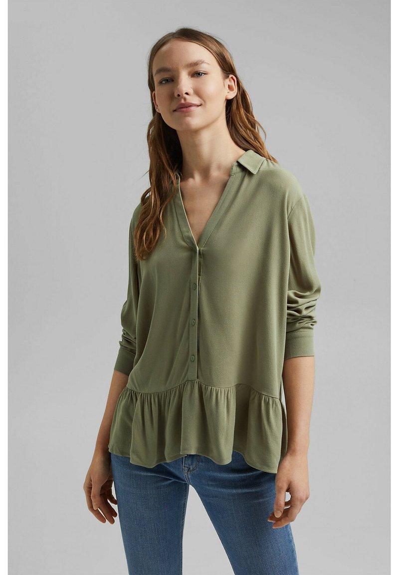 Esprit - CORE - Blouse - light khaki