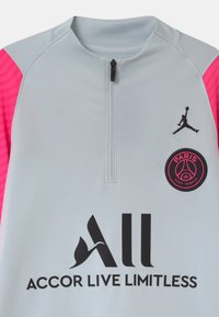 Nike Performance - PARIS ST GERMAIN UNISEX - Club wear - pure platinum/hyper pink/black - 2