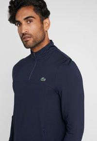 Lacoste Sport - QUARTER ZIP - Sports shirt - navy blue - 4
