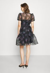 Vila - VIORGA SHORT DRESS - Cocktail dress / Party dress - black - 2