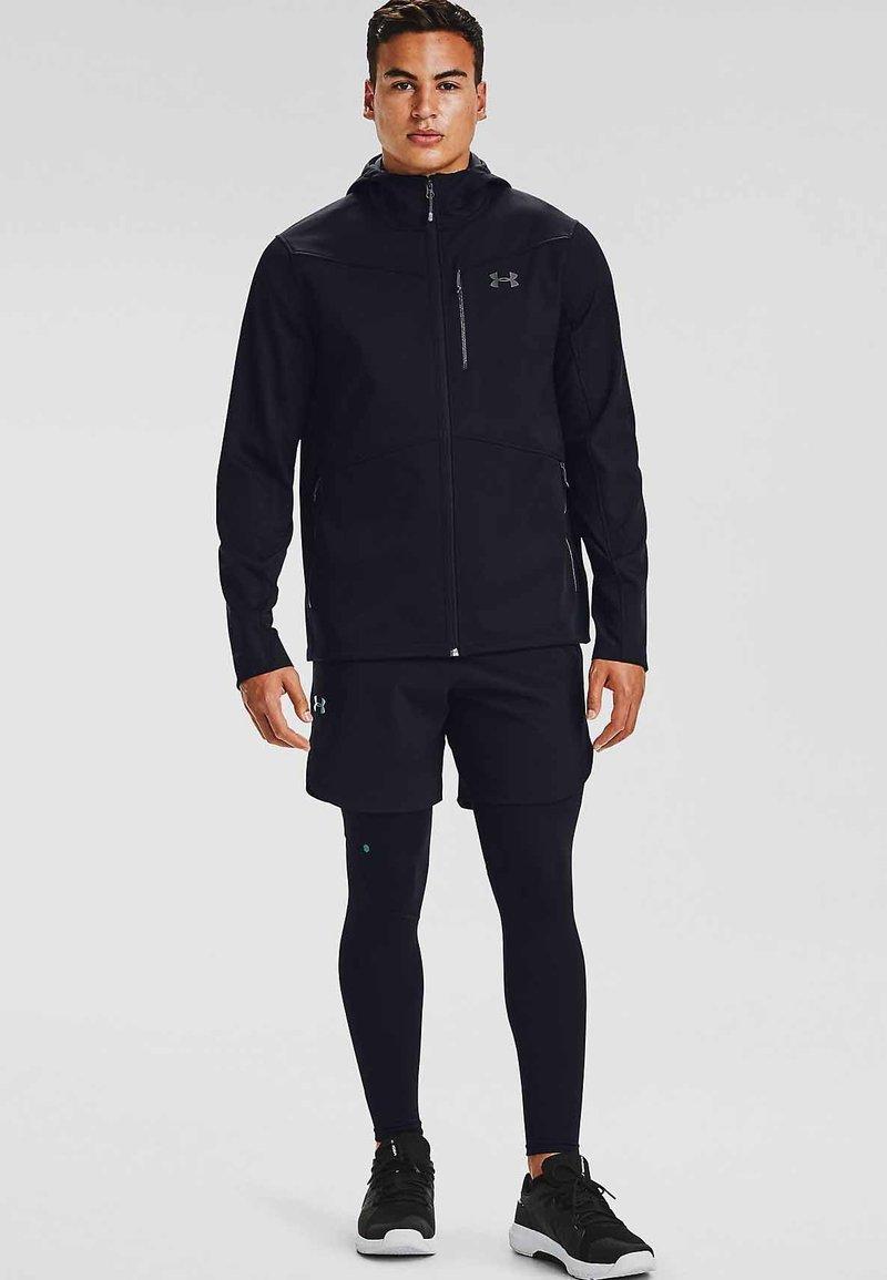 Under Armour - Fleece jacket - black