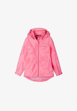 VALKO - Waterproof jacket - neon pink