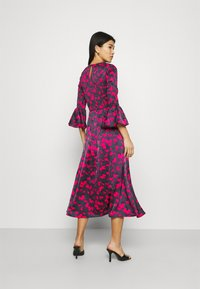 Who What Wear - SMOCKED DRESS - Day dress - slate - 2