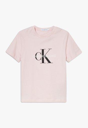 MONOGRAM LOGO UNISEX - Print T-shirt - pink