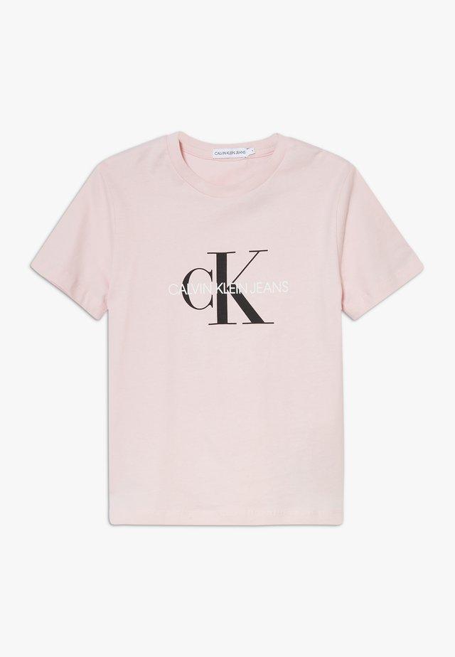 MONOGRAM LOGO UNISEX - T-shirts print - pink
