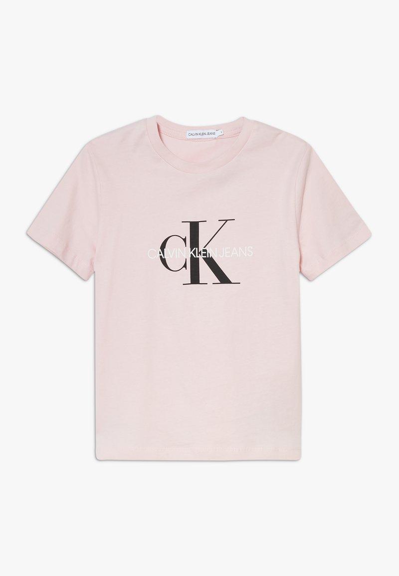 Calvin Klein Jeans - MONOGRAM LOGO UNISEX - T-Shirt print - pink