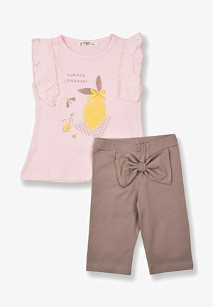 T-SHIRT AND  LEGGING SET - Medias - light pink
