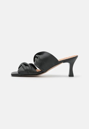 ANA - Heeled mules - black