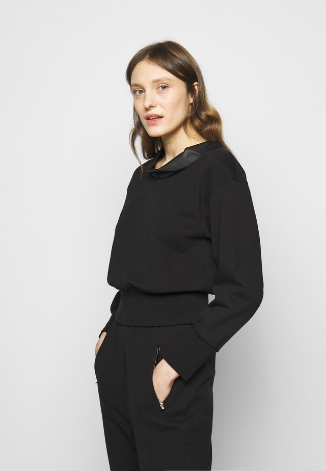 COWL NECK  - Sweater - black