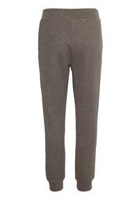 Kaffe - Pantalon classique - grey brown w. silver lurex - 7