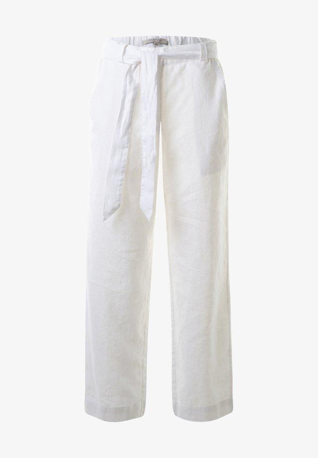 CARA  - Trousers -  weissuni