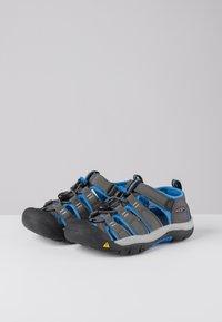 Keen - NEWPORT - Walking sandals - magnet/brilliant blue - 2