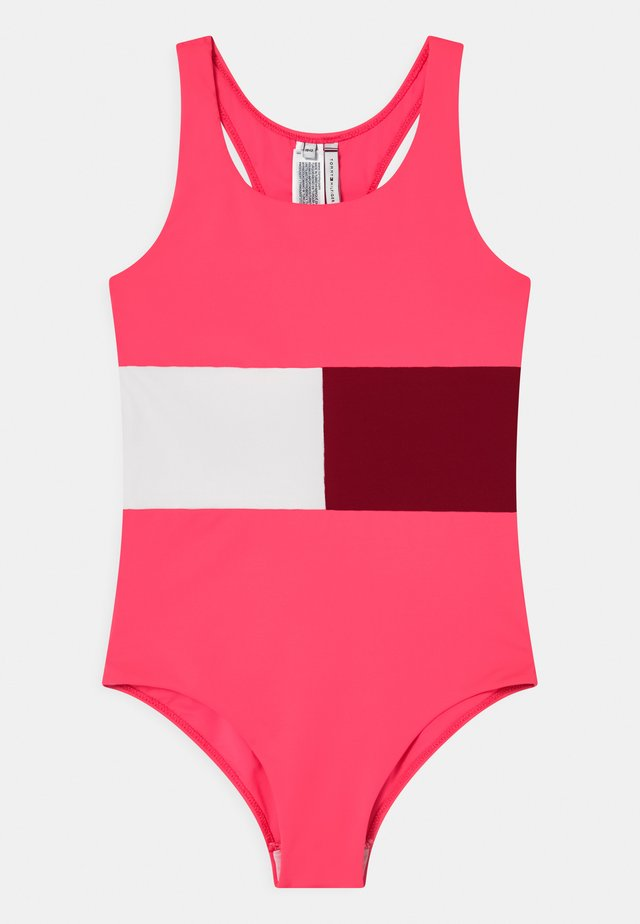 Plavky - watermelon pink