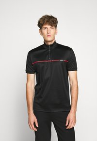 HUGO - DAXHAM - T-shirt imprimé - black - 0