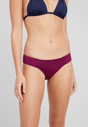 QUILTED HIPSTER - Bikini-Hose - boysenberry