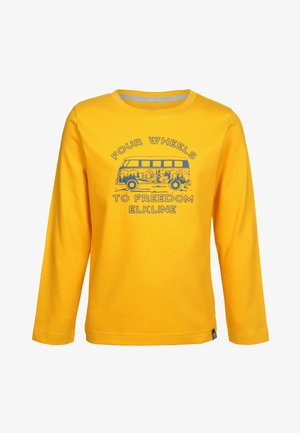 EASY RIDE  - Long sleeved top - goldenyellow
